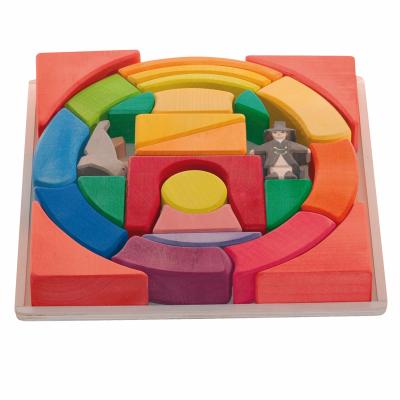 Puzzle Empilhável Circo Arco-Íris - Ostheimer