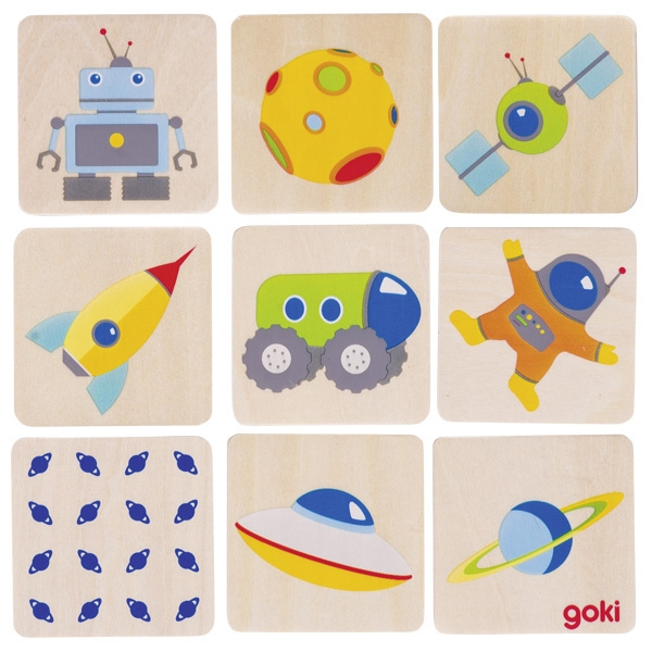Jogo da Memória Espaço - Goki