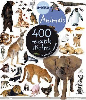 Animais - Livro de Autocolantes Reutilizáveis
