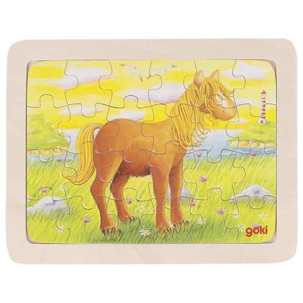 Puzzle de Peças Pequeno Cavalo - Goki