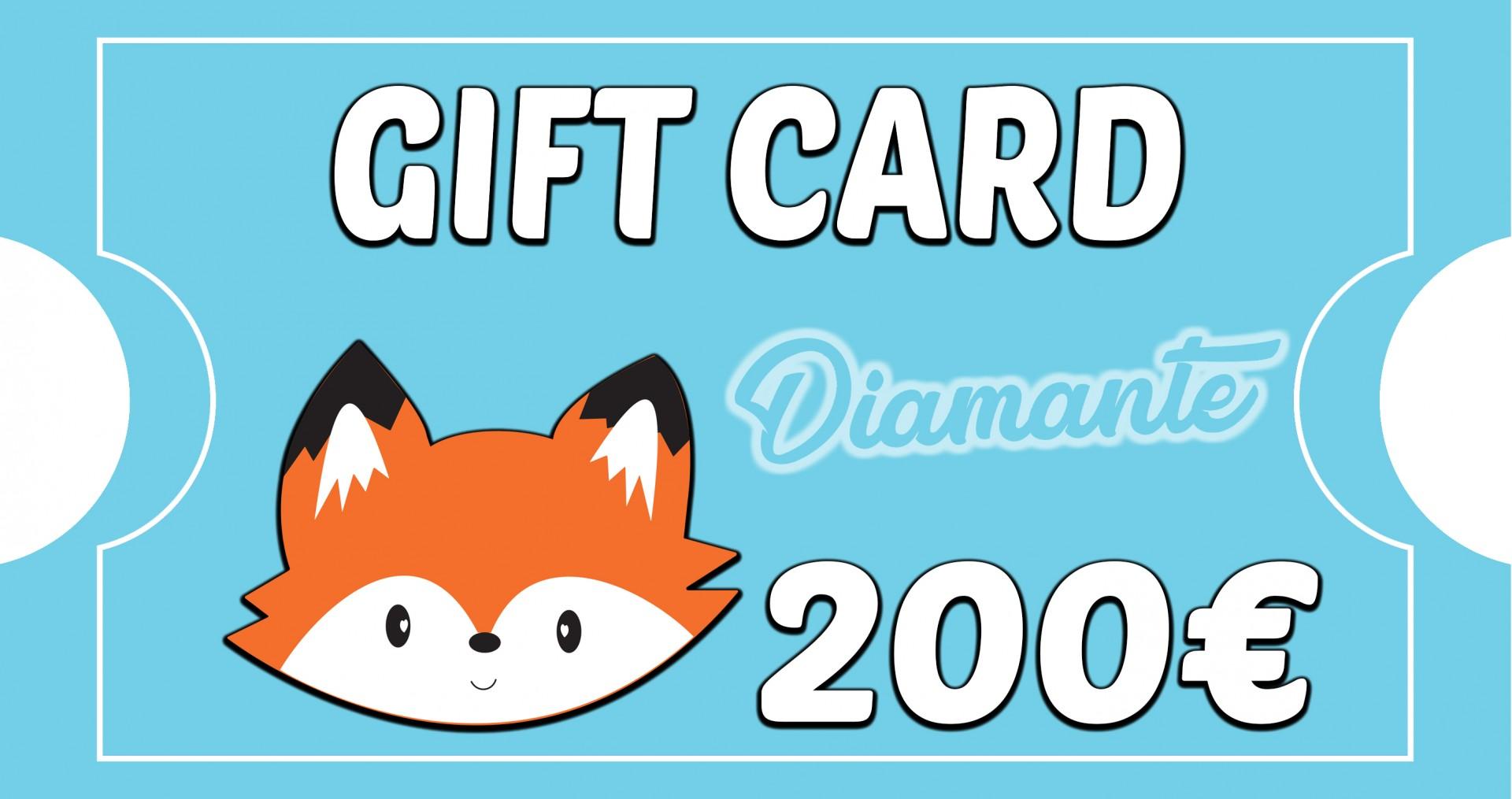 Gift Card Diamante - BOSQUE FELIZ