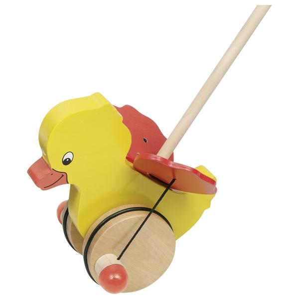 Pato de Empurrar - Goki