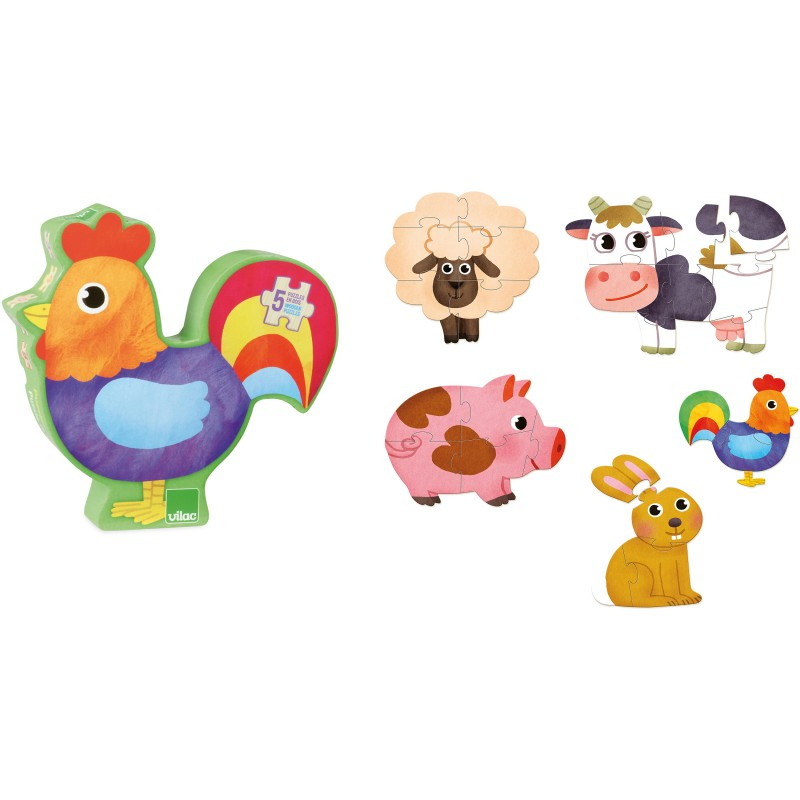 Puzzle Animais da Quinta - Vilac