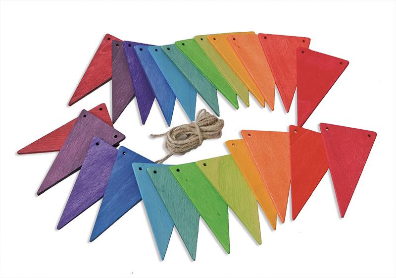 Bandeiras decorativas Arco-Íris - Grimm's