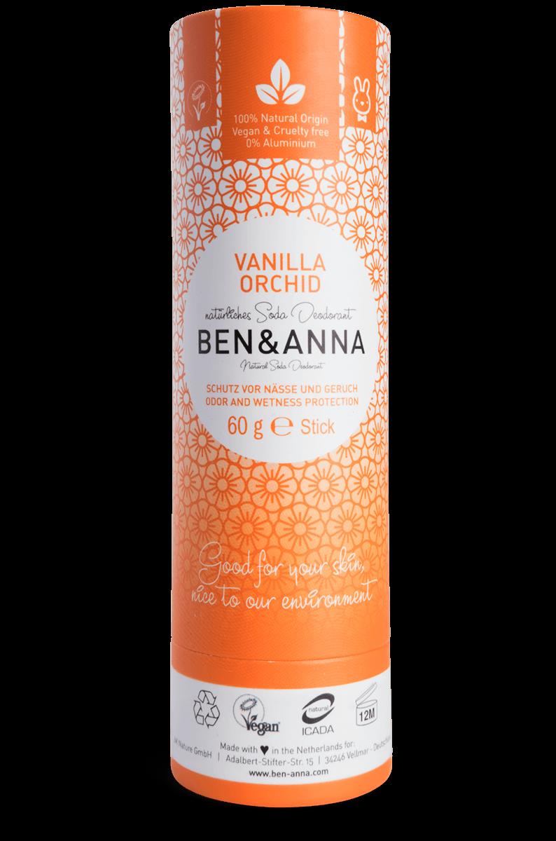 Baunilha Desodorizante Natural - Ben & Anna