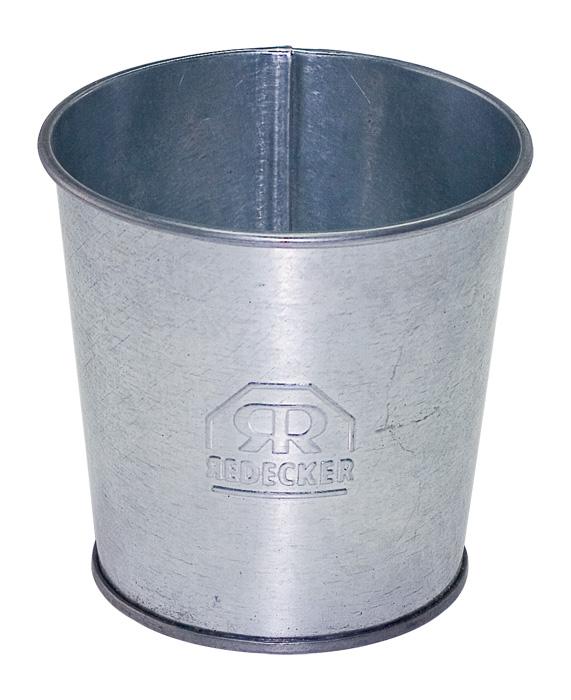 Pote de Metal Galvanizado - Redecker