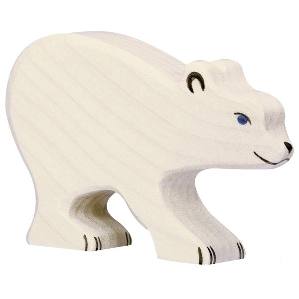 Urso Polar Bebé - Holztiger