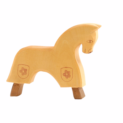 Cavalo de cavaleiro Amarelo - Ostheimer