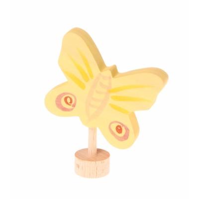 Borboleta Amarela Figura Decorativa - Grimm's