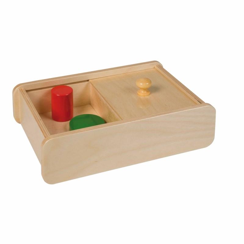 Caixa com tampa deslizante - Nienhuis Montessori