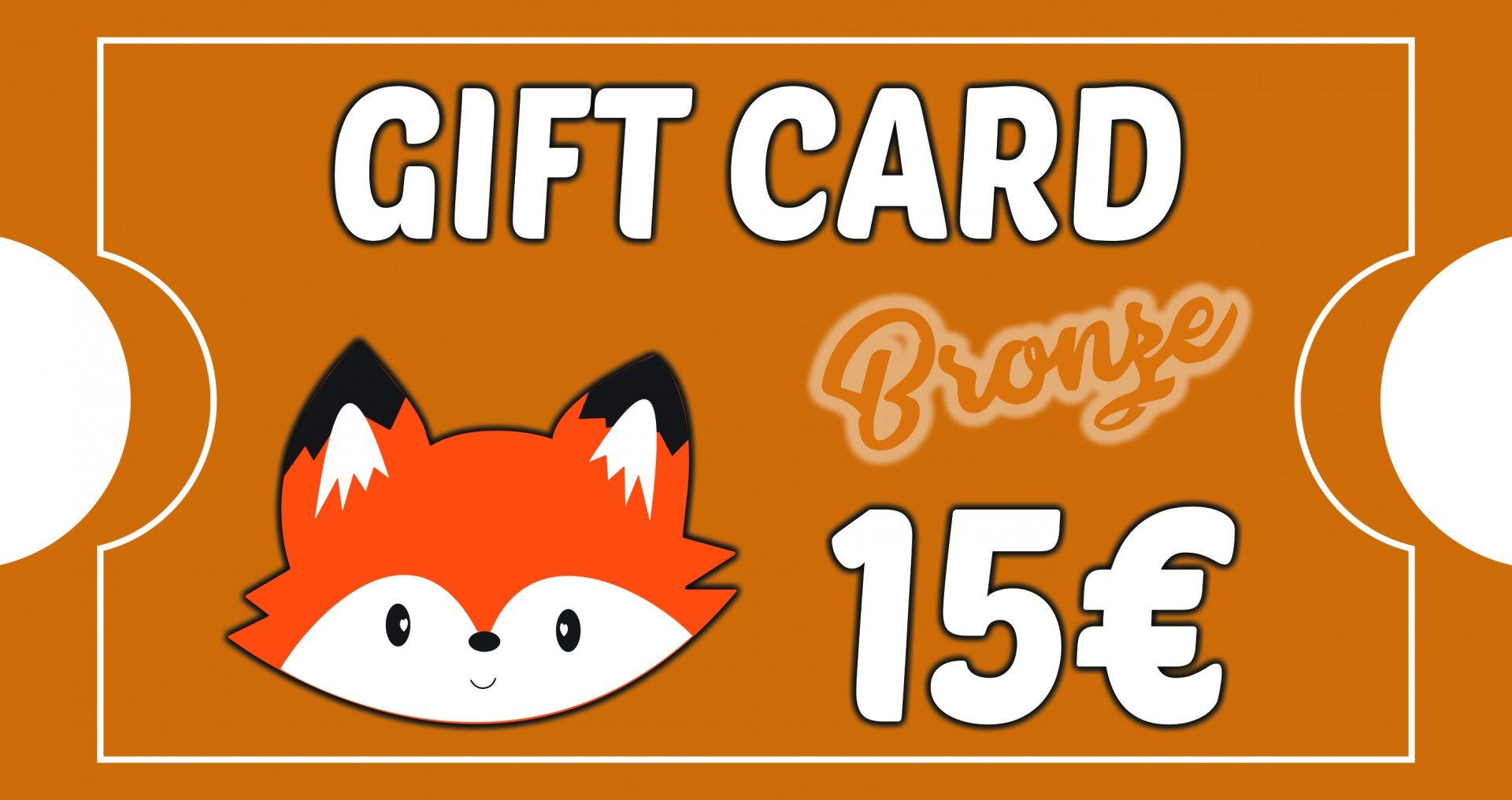 Gift Card Bronze - BOSQUE FELIZ