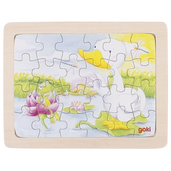 Puzzle de Peças Pequeno Pato - Goki