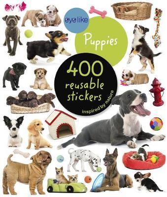 Cães Bebés - Livro de Autocolantes Reutilizáveis