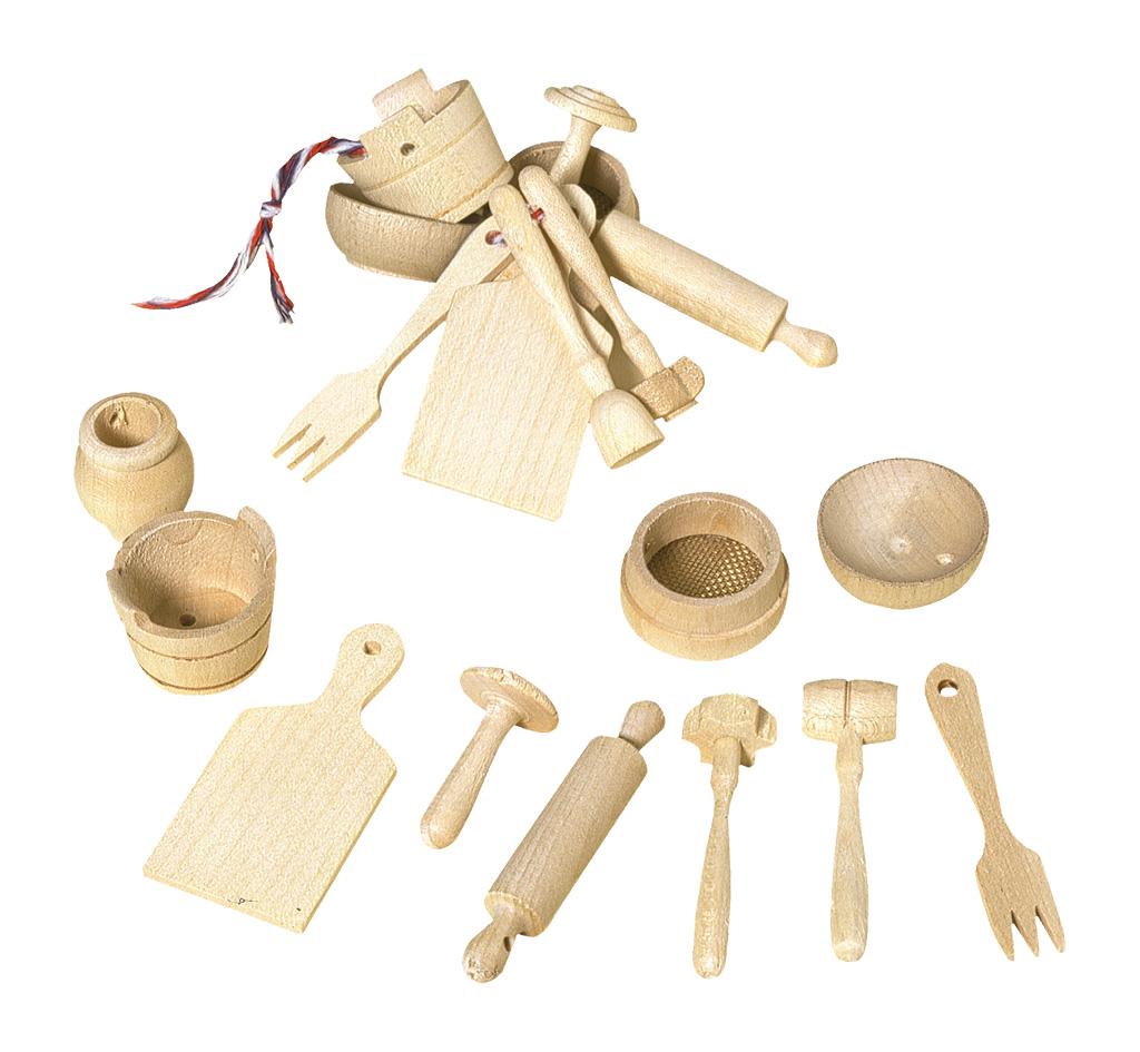 Conjunto de Cozinha Miniatura - Redecker