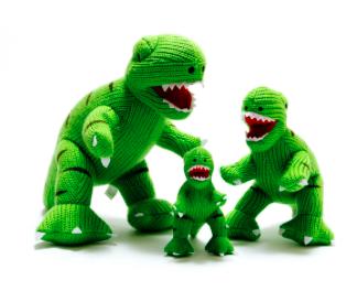 T-Rex Grande de Tricô - Best Years