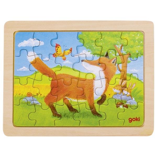 Puzzle de Peças Pequeno Raposa - Goki
