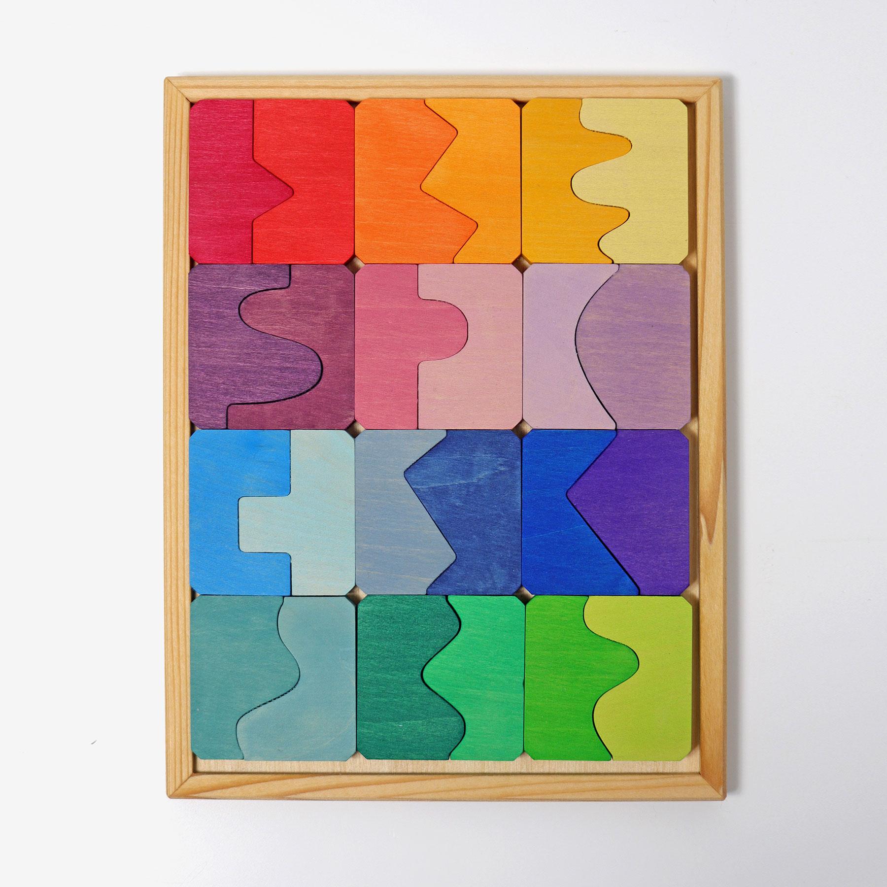 Puzzle Côncavo e Convexo - Grimm's