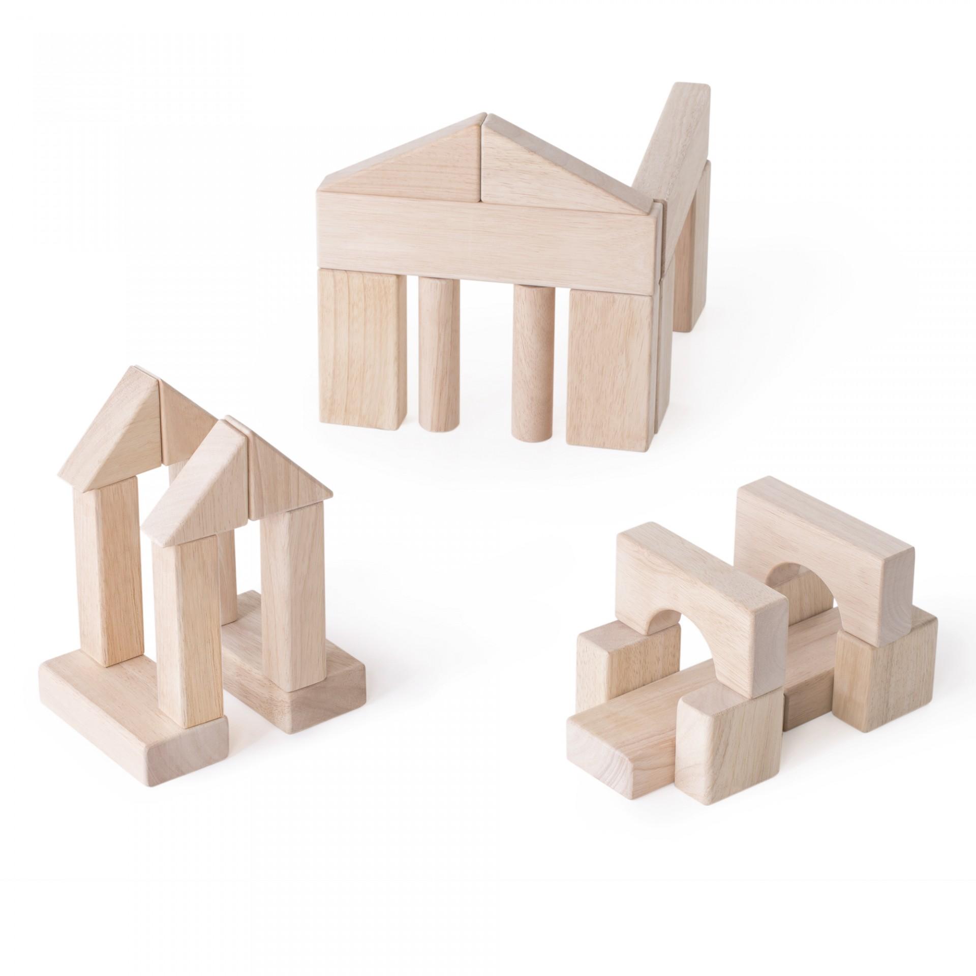 Blocos de Construção Grandes Set A - Guidecraft