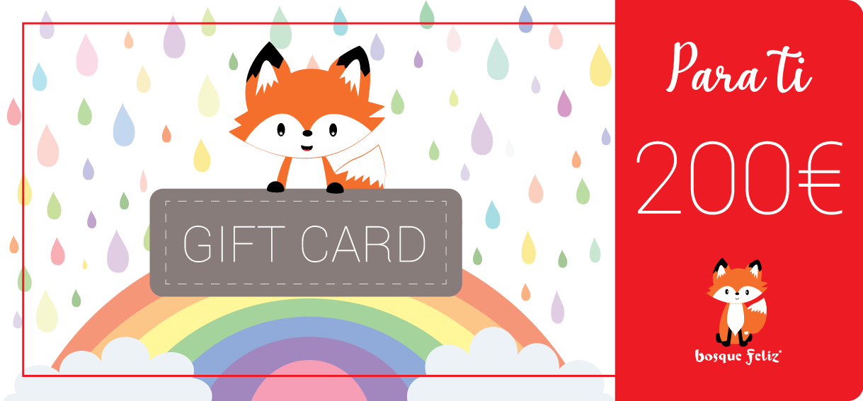 Gift Card 200€ - BOSQUE FELIZ