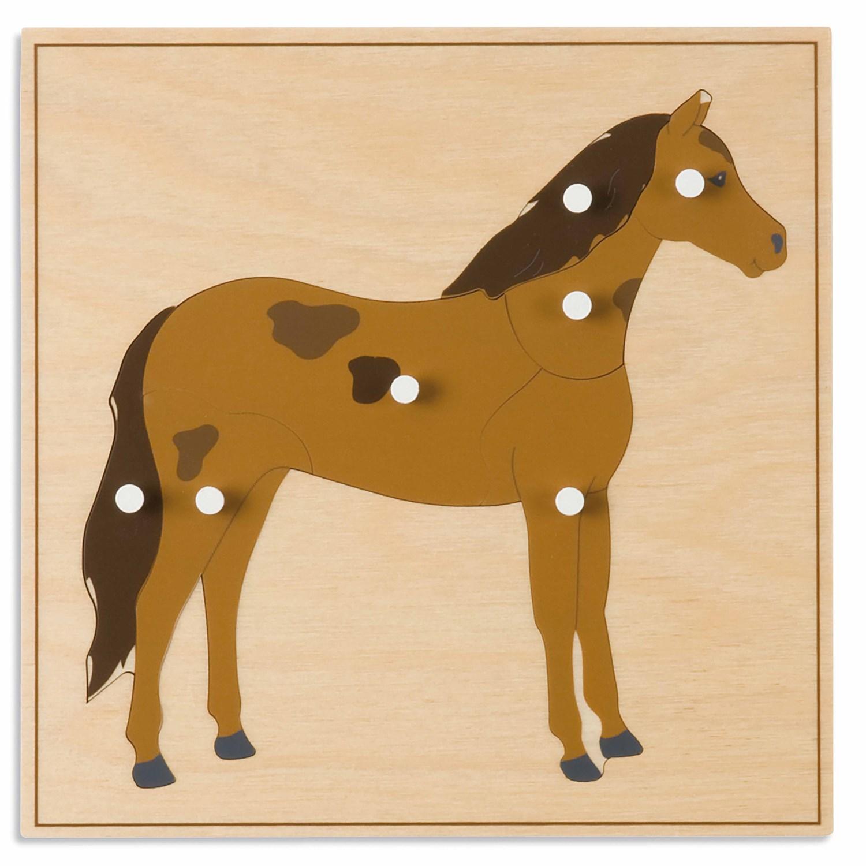 Puzzle Animal: Cavalo - Nienhuis Montessori