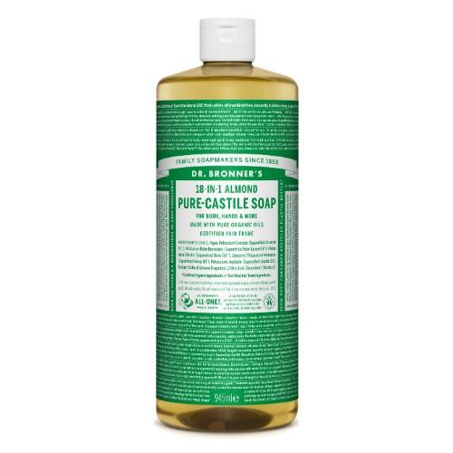 Amêndoa Sabonete Líquido Biológico - Dr. Bronner's