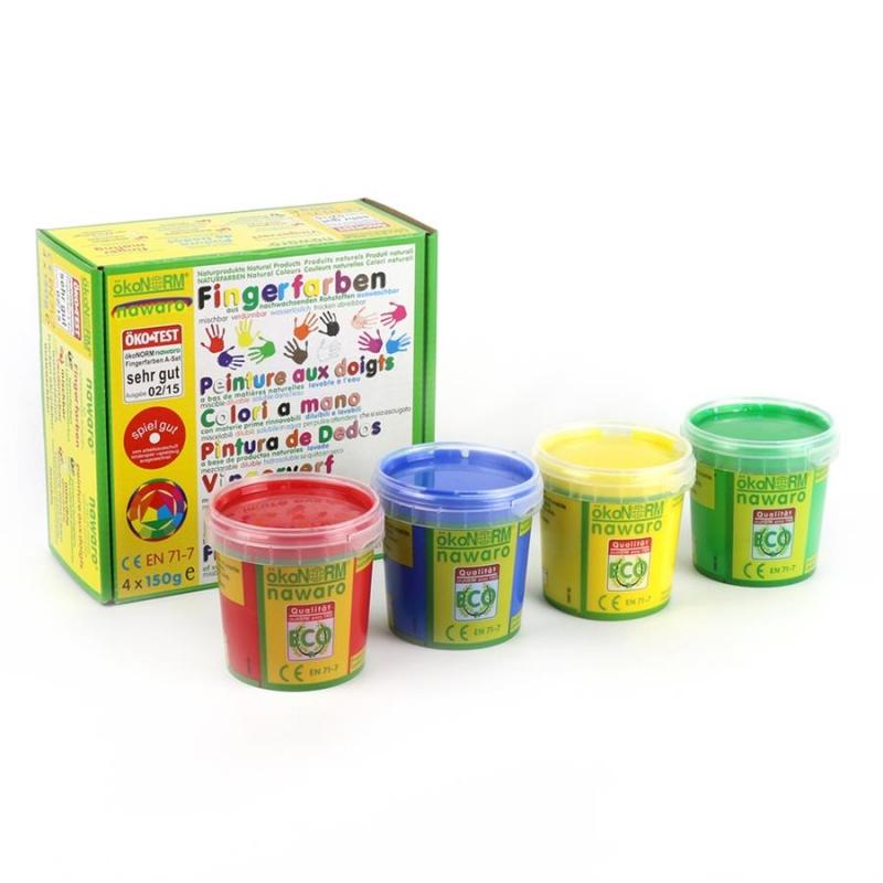Tinta de Dedos Clássica Nawaro 4 unidades - ökoNORM