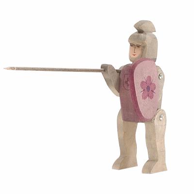 Cavaleiro encarnado a cavalgar - Ostheimer
