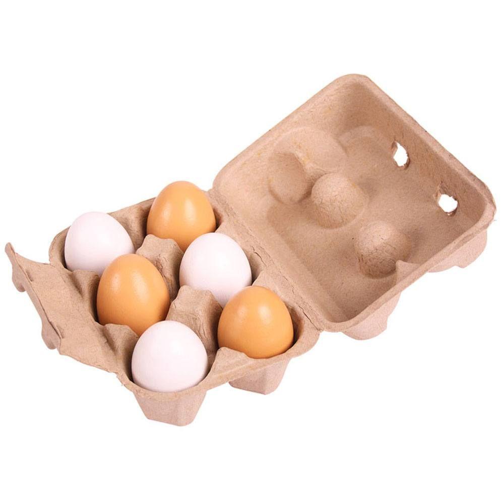 Caixa de Ovos de Madeira - BigJigs
