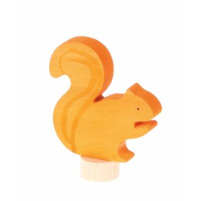 Figura Decorativa Esquilo - Grimm's