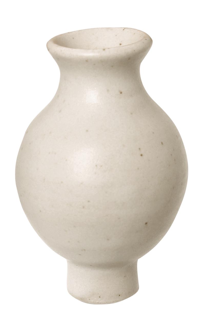 Vaso de Flor Branco Figura Decorativa - Grimm's
