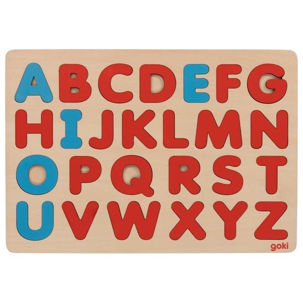 Puzzle Alfabeto Montessori Friendly - Goki