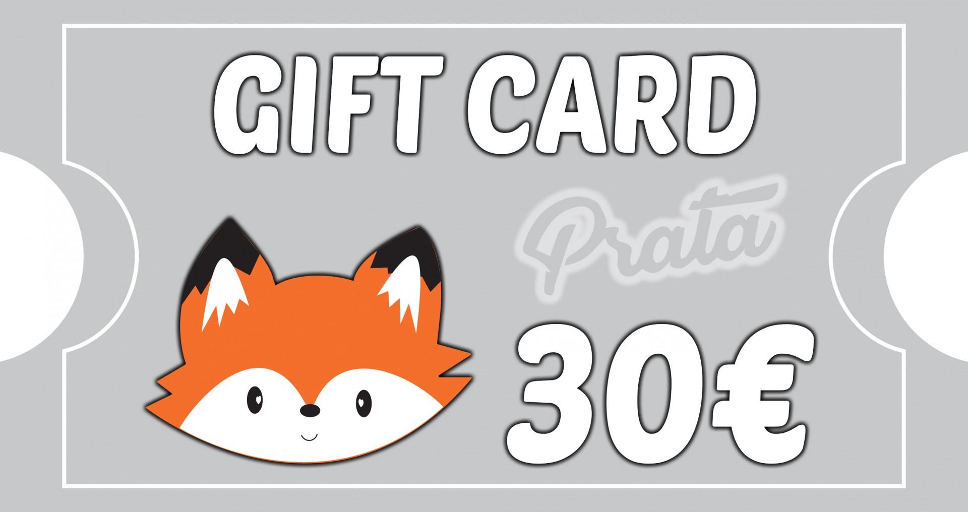 Gift Card Prata - BOSQUE FELIZ