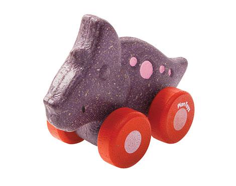 Carro Dino Trio - Plan Toys