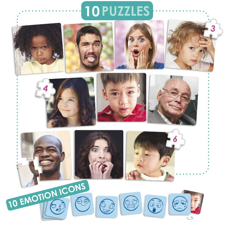 Puzzle As 10 Emoções - Akros