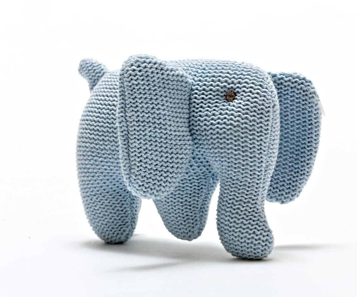 Elefante Azul Roca Tricô Orgânico - Best Years