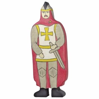 Cavaleiro com Capa Vermelha - Holztiger