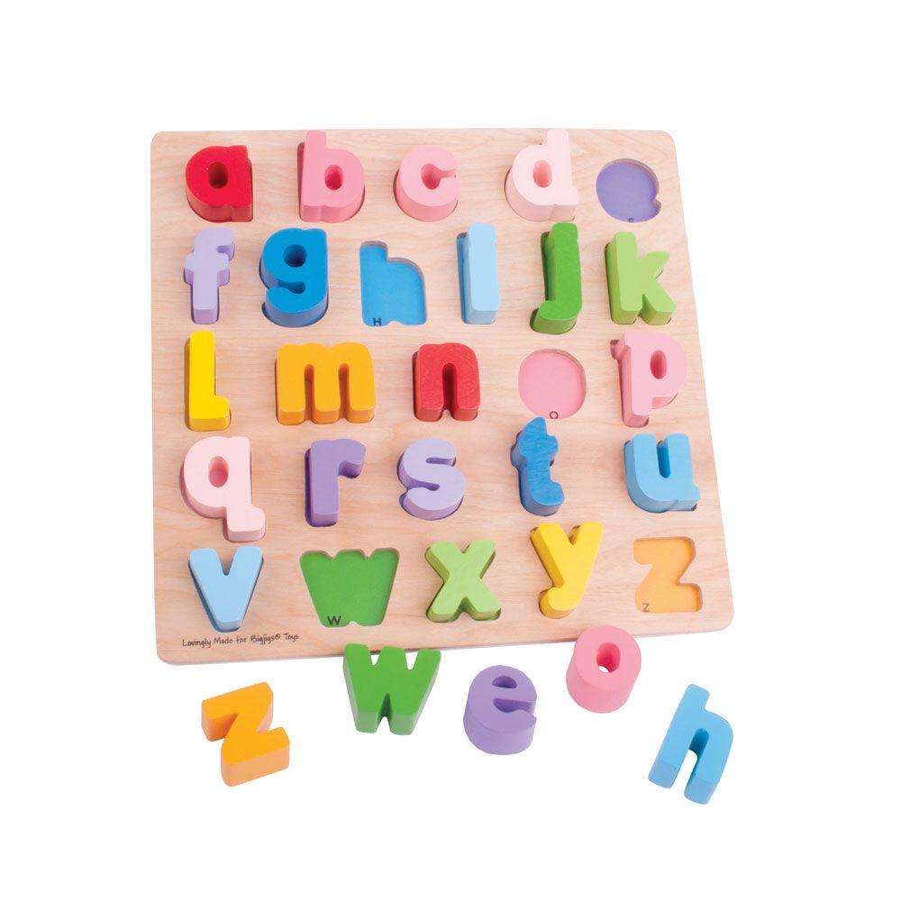 Puzzle Alfabeto 3D (minúscula) - BigJigs