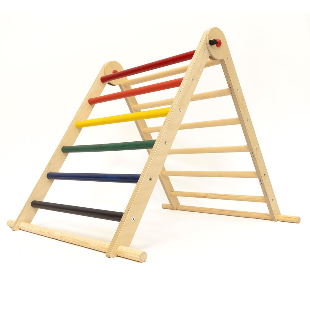Triângulo Pikler TriClimb Arco-Íris Single