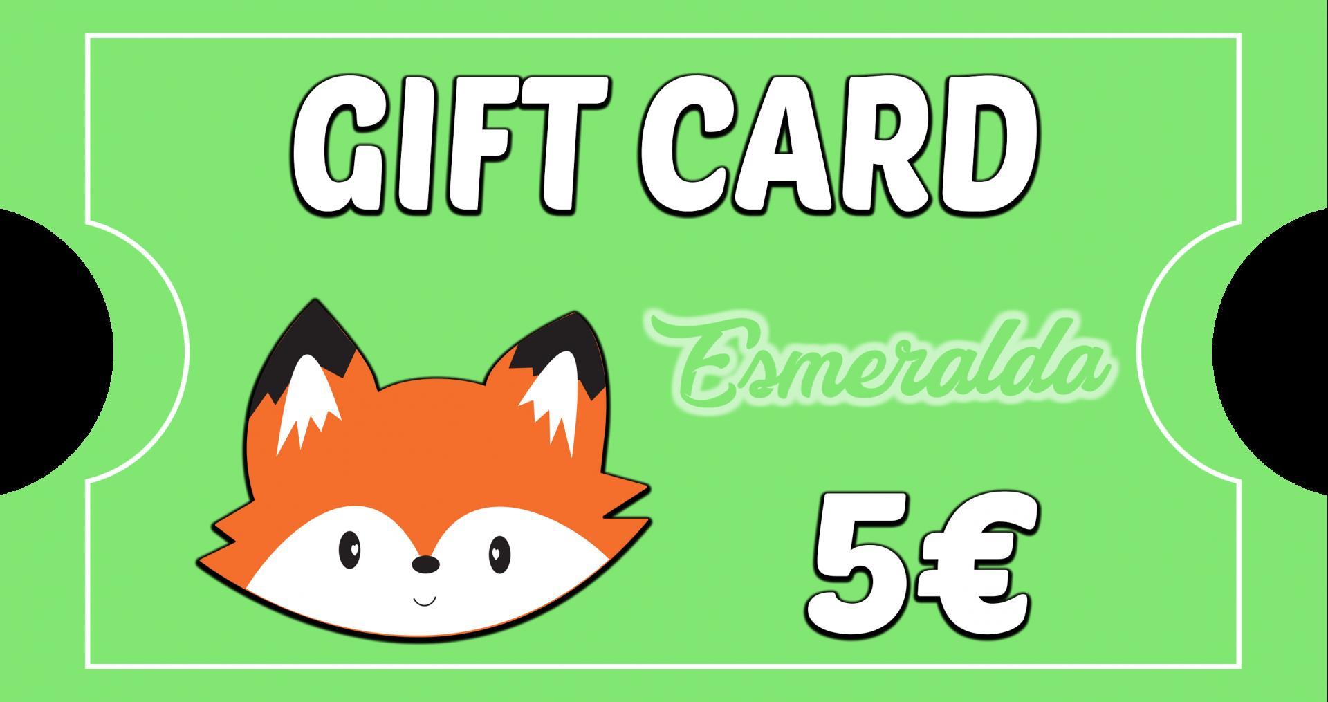 Gift Card Esmeralda - BOSQUE FELIZ