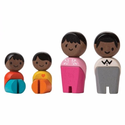 Família Afro-Americana - Plan Toys