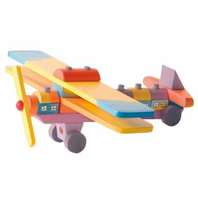 Avião Colorido - Ostheimer