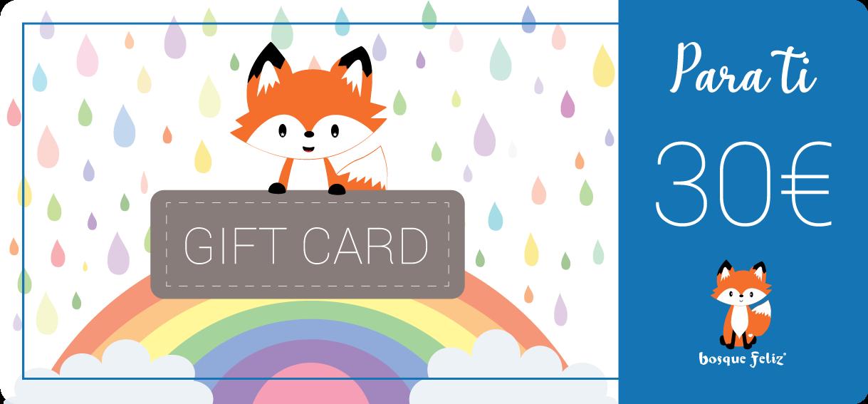 Gift Card 30€ - BOSQUE FELIZ