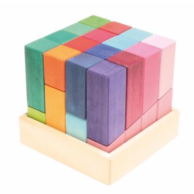 Cubo Puzzle de Construção - Grimm's