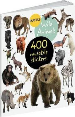 Animais Selvagens - Livro de Autocolantes Reutilizáveis