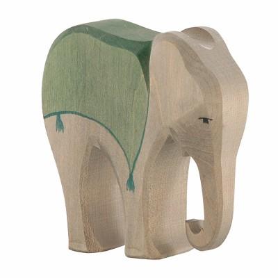Elefante com sela - Ostheimer