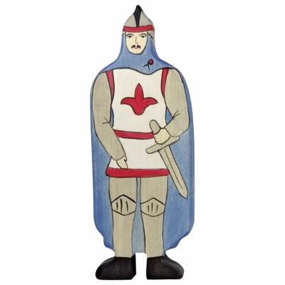 Cavaleiro com Capa Azul - Holztiger