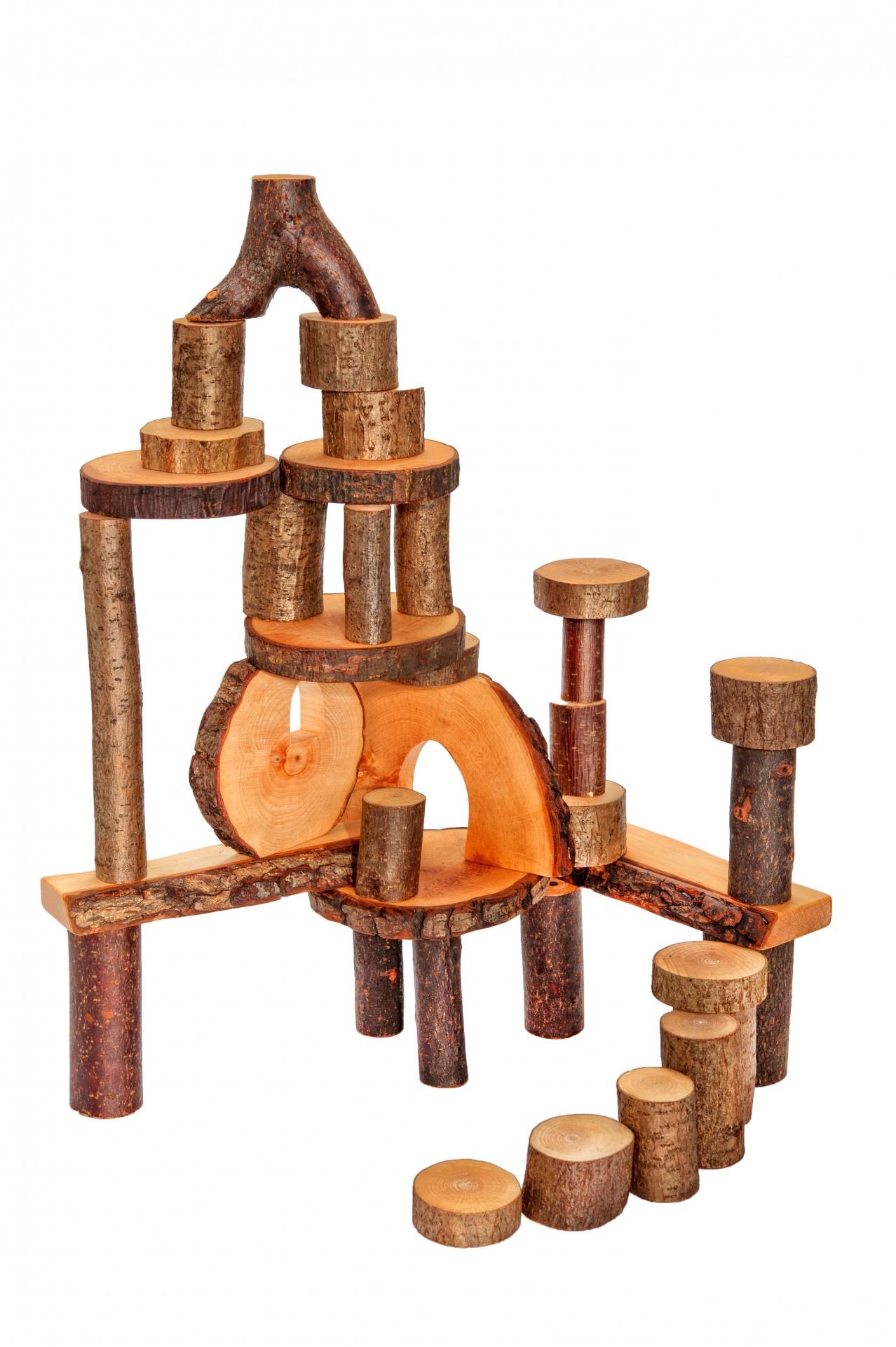 ecoBlocos 36 peças - Magic Wood
