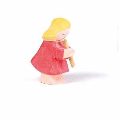 Rapariga a Tocar Flauta - Ostheimer