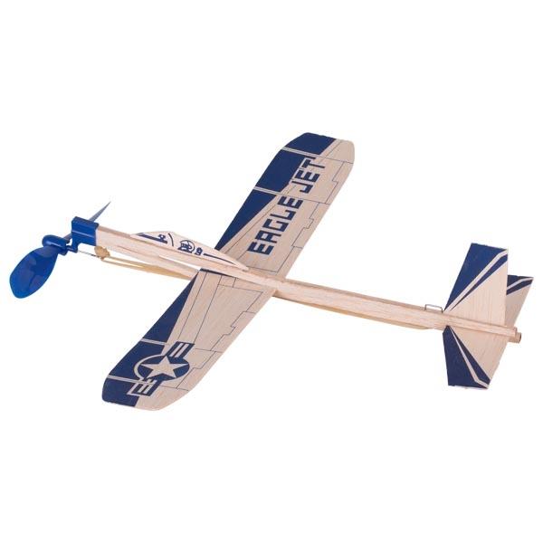 Avião a jacto de madeira - Goki