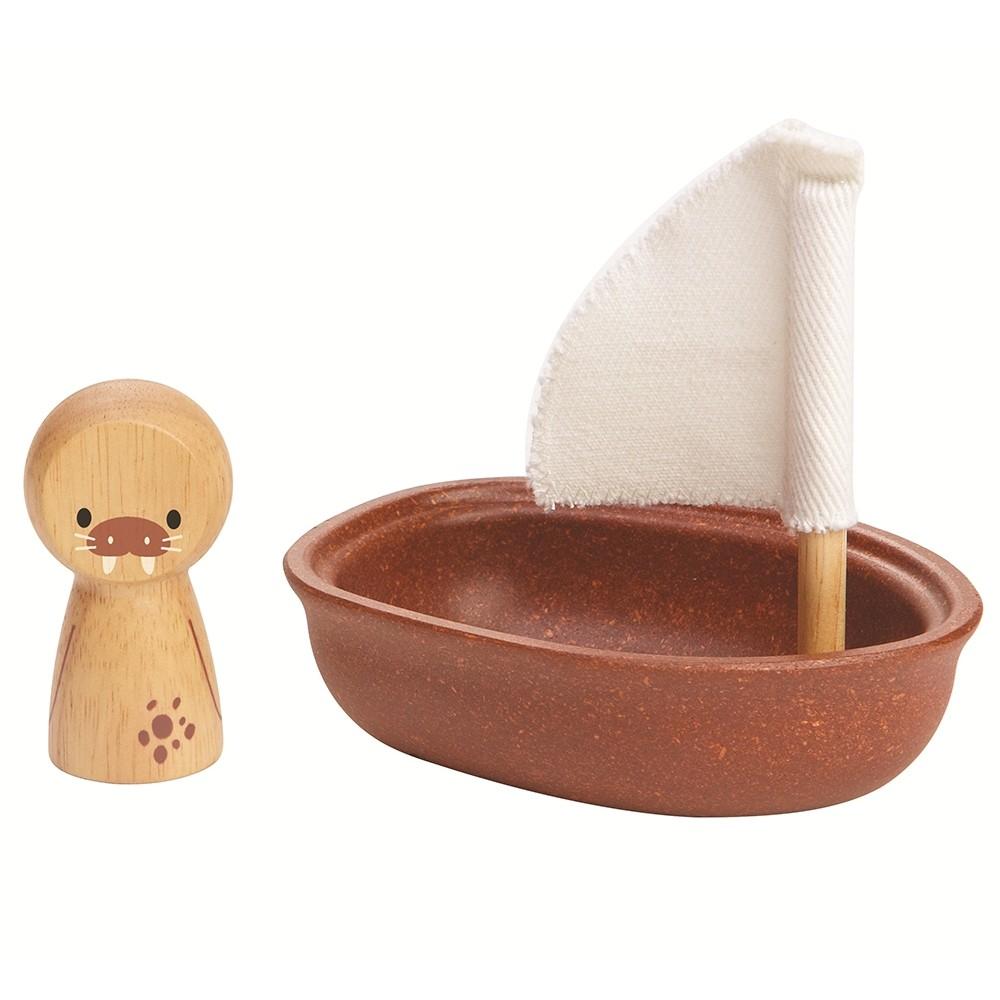 Veleiro Urso Morsa - Plan Toys